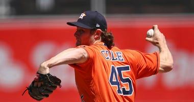 Houston Astros pitcher Gerrit Cole