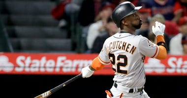 San Francisco Giants' Andrew McCutchen