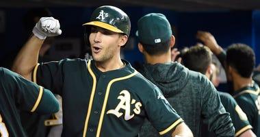 Oakland Athletics' Matt Olson
