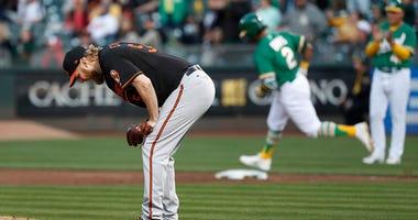 Baltimore Orioles starting pitcher Andrew Cashner