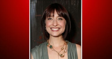 """This June 26, 2012, file photo shows television actress Allison Mack at a party in Los Angeles. Federal prosecutors say television actress Allison Mack, from """"Smallville"""" has been charged with sex trafficking for helping recruit women to be slaves of a ma"""