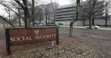 In this Jan. 11, 2013 file photo, the Social Security Administration's main campus is seen in Woodlawn, Md. Medicare's financial problems have gotten worse, and Social Security's can't be ignored forever. The government's annual assessment is a sobering c