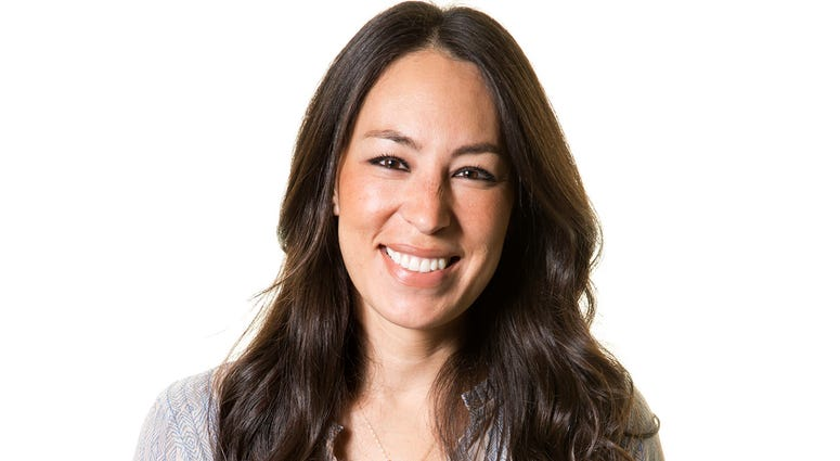 """In this March 29, 2016 file photo, TV personality Joanna Gaines poses for a portrait in New York. Joanna and Chip Gaines have welcomed their fifth child, a boy. The announcement of the birth Saturday, June 23, 2018 on Twitter. Chip Gaines wrote, """"The Gain"""