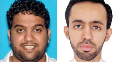 Ali Alzabarah and Ahmed Almutairi are suspected of acting as spies for the Saudi government