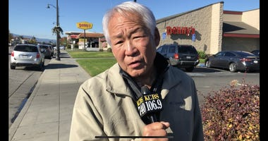 Andrew Koh, an Army veteran, wants an apology from Denny's in Santa Clara after a manager told him and a party of 10 to leave for allegedly taking too long to order food.
