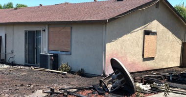 A fire started by fireworks in Antioch damaged several homes on June 15, 2019.