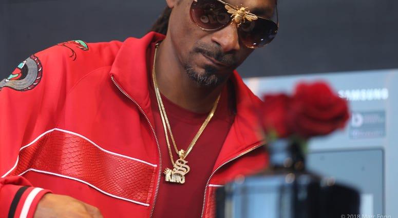 Snoop Dogg at BottleRock Napa Valley 2018