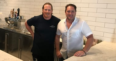 Liam and Chef Peter Armelino (Photo credit: Foodie Chap/Liam Mayclem)