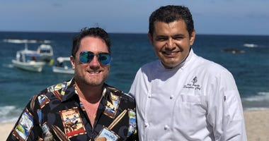 Chef Jorge González & Liam (Photo credit: Foodie Chap/Liam Mayclem)