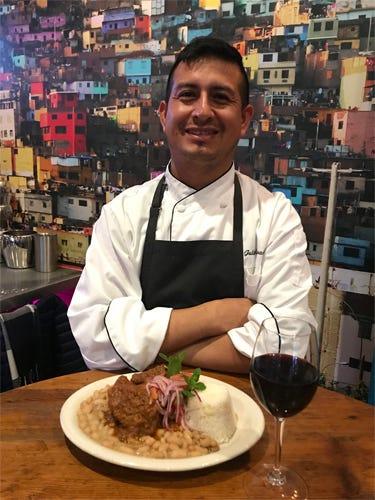 Chef Julio Navarro (Photo credit: Foodie Chap/Liam Mayclem)