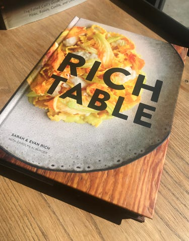 Chef Evan and Sarah Rich's Book
