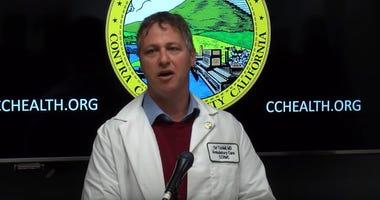 Contra Costa County health officer Dr. Ori Tzvieli