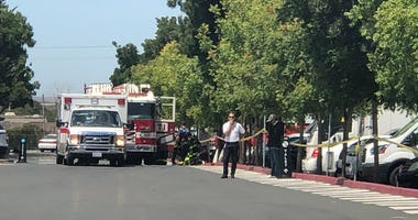 Facebook evacuated several of its Menlo Park offices after equipment detected a hazardous material in the mail room on July 1, 2019.