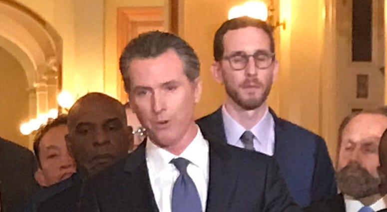 Gov. Gavin Newsom announced a moratorium on capital punishment on March 13, 2019.