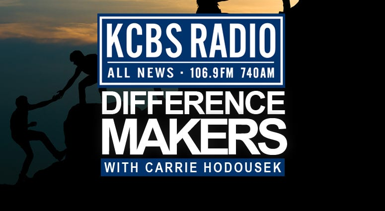 Difference Makers is KCBS Radio's ongoing series about extraordinary individuals improving the Bay Area.