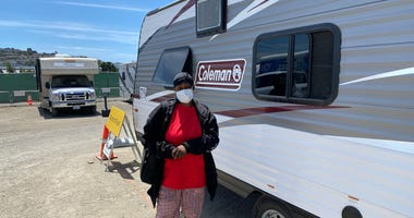 A Place To Shelter: RVs and Site Monitors Provide Some Homeless Relief