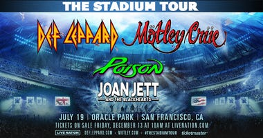 Def Leppard and Mötley Crüe: The Stadium Tour