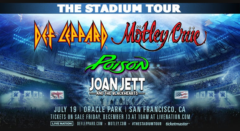 Def Leppard and Mötley Crüe: The Stadium Tour