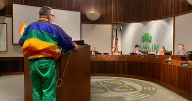 Dublin city officials reversed an earlier vote and decided to fly the pride flag in June to celebrate the LGBTQ community on June 4, 2019.