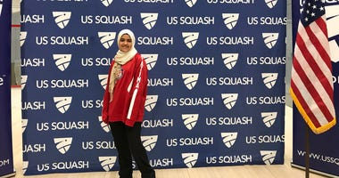 Fatima Abdelrahman, a member of the US Squash team from Santa Clara, was forced to remove her hijab at San Francisco International Airport while traveling on Air Canada to compete in Toronto.