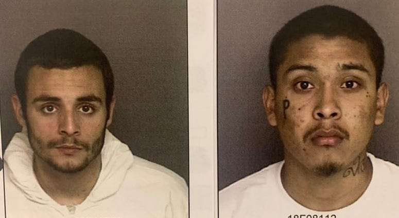 Santos Fonseca (left) and Jonathan Salazar are murder suspects who escaped from Monerey County jail in Salinas on Nov. 3, 2019.