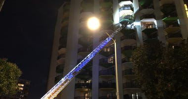 A fire broke out March 4, 2020 at a SoMa apartment building that might have been caused by a malfunctioning e-scooter.