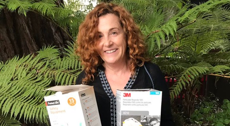 Author Ayelet Waldman, of Berkeley, and her literary husband Michael Chabon are giving autographed copies of their books to people who donate gear that protects medical workers from coronavirus exposure.