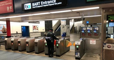 BART's ridership has fallen 70% during the coronavirus outbreak and shelter in place order covering much of the Bay Area.