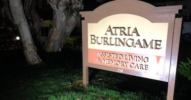 Three residents at the Atria Burlingame nursing home have coronavirus, officials revealed March 18, 2020.