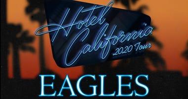 """The Eagles: """"Hotel California"""" 2020 Tour"""