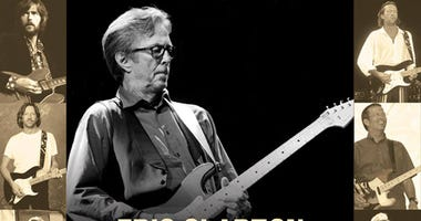 Eric Clapton at Chase Center San Francisco
