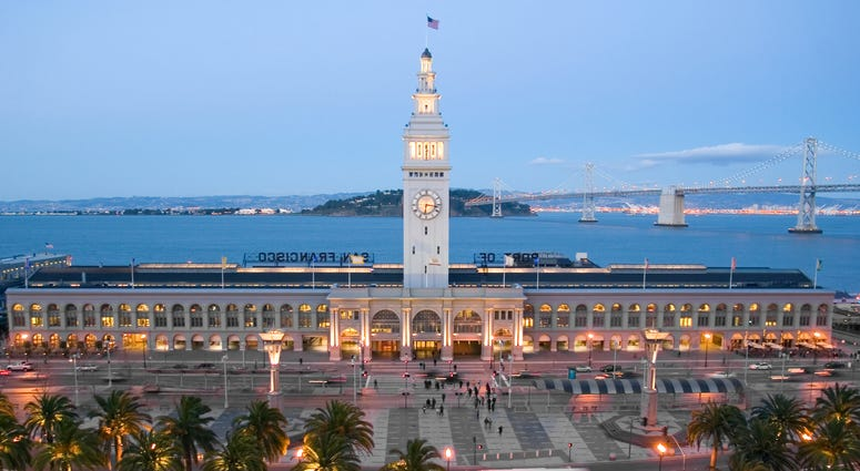 Ferry Building in San Francisco.