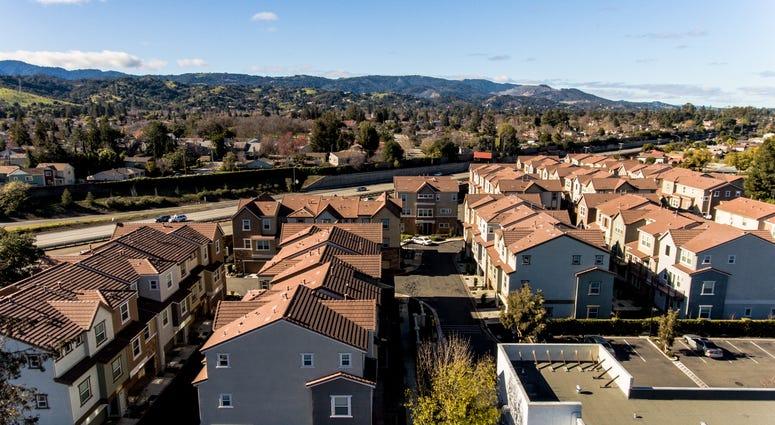 Houses in San Jose.