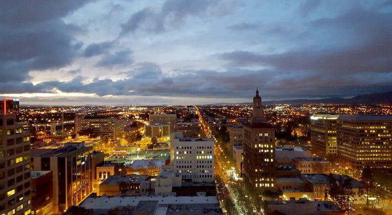 A view of San Jose.