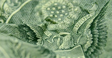 Close Up of One-dollar bill