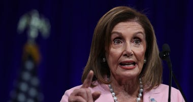 3: Speaker of the House Nancy Pelosi (D-CA) speaks during the Democratic Presidential Committee (DNC) summer meeting on August 23, 2019 in San Francisco, California.