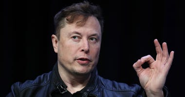 lon Musk, founder and chief engineer of SpaceX speaks at the 2020 Satellite Conference and Exhibition March 9, 2020 in Washington, DC.