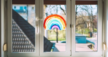 Rainbow on Glass / Hope