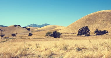 A view of Mount Diablo in Contra Costa County.