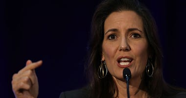 Oakland Mayor Libby Schaaf speaks during the 2016 Cannabis Business Summit & Expo on June 22, 2016 in Oakland,
