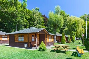summer camp cabins