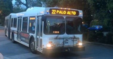 The 22 bus line on the VTA system is known as Hotel 22, because homeless people often sleep on it overnight as it travels between San Jose and Palo Alto.
