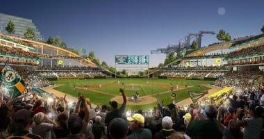 As ballpark Howard Terminal