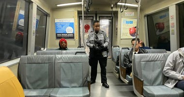 BART fare inspector in San Francisco