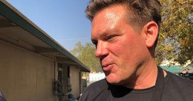 Chef Tyler Florence talks to KCBS Radio about serving food to Kincade Fire evacuees and firefighters on Oct. 29, 2019.