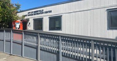 Emeryville Recreation Center now a homeless family shelter, June 9, 2020