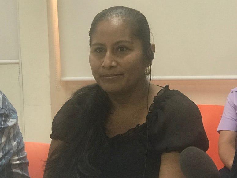 Salvadoran Migrant Sandra Monroy