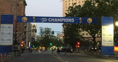 Warriors Parade Route