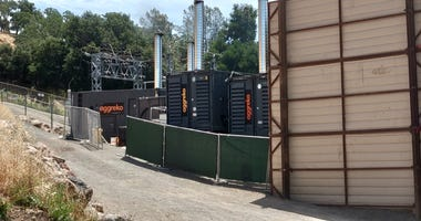 PG&E generators in Calistoga have elicited complaints from residents who say they're too loud.