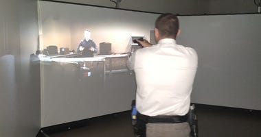 Marin County Sheriff's Department officers have used virtual reality to train for real-life interactions.